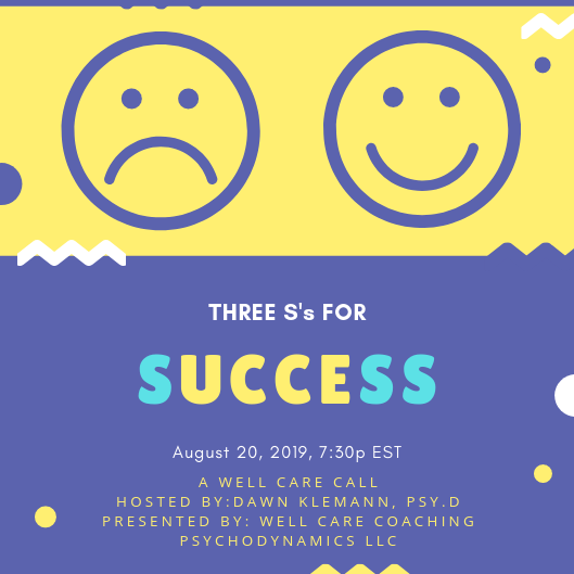 Three S's For Success Event